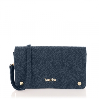 Boscha Clutch Midnight Blue