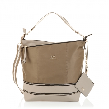 Sansibar Shopper Taupe