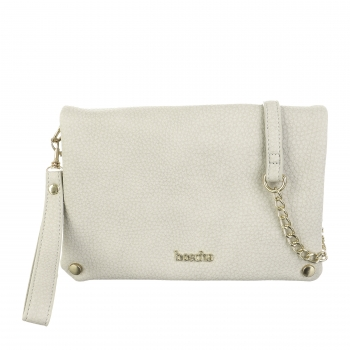 Boscha Clutch Warm Grey